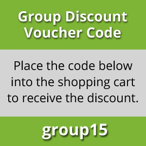 Group Booking discount Voucher