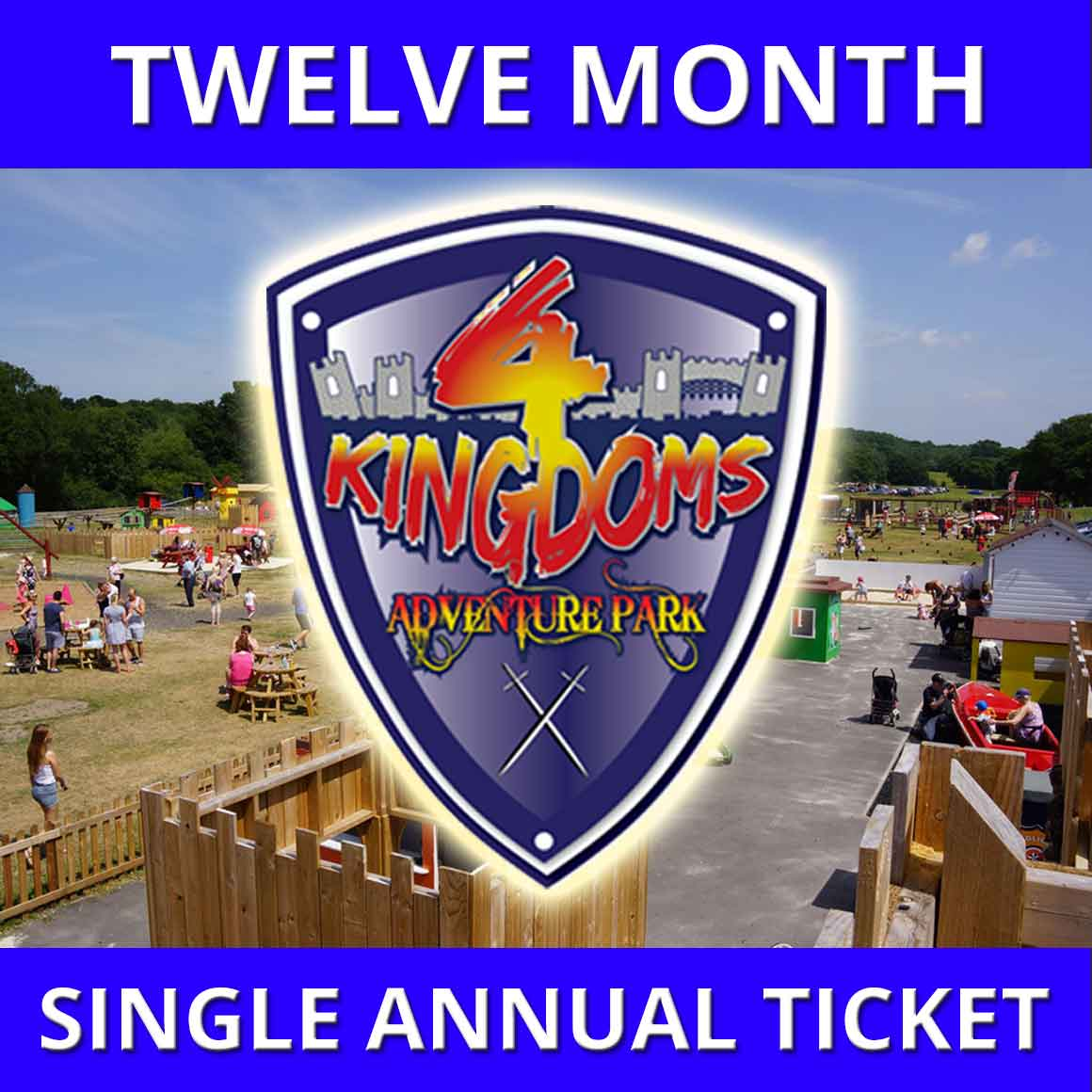 12 Month Single annual ticket