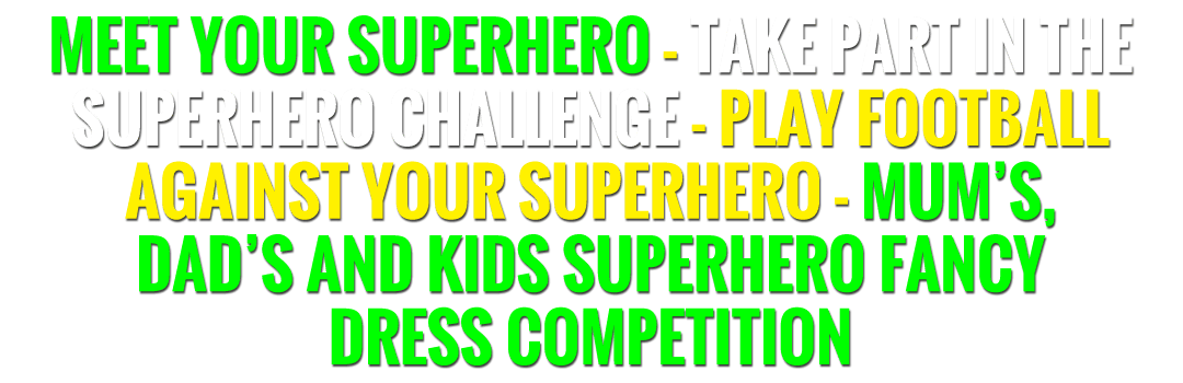 superhero fun text