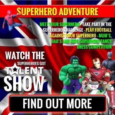 Superhero Adventure Weekend