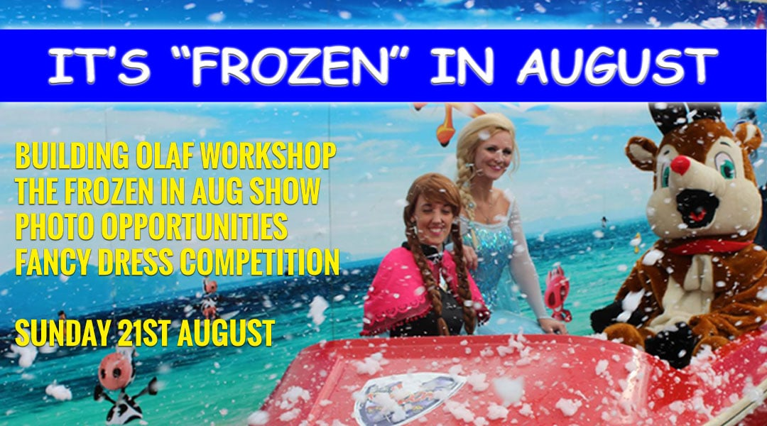 Frozen in august 2016 Special Event