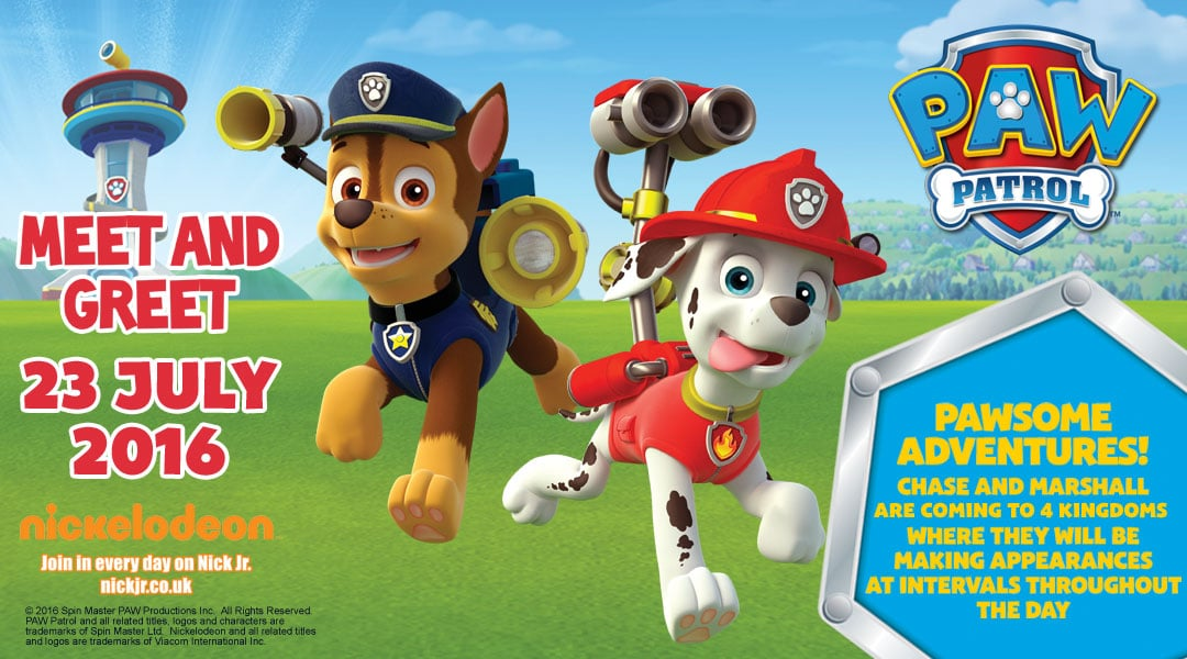Paw Patrol Weekend