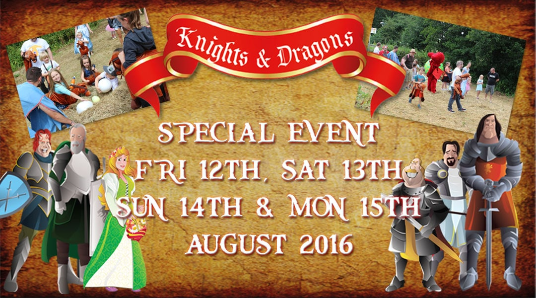 Knights and dragons Weekend