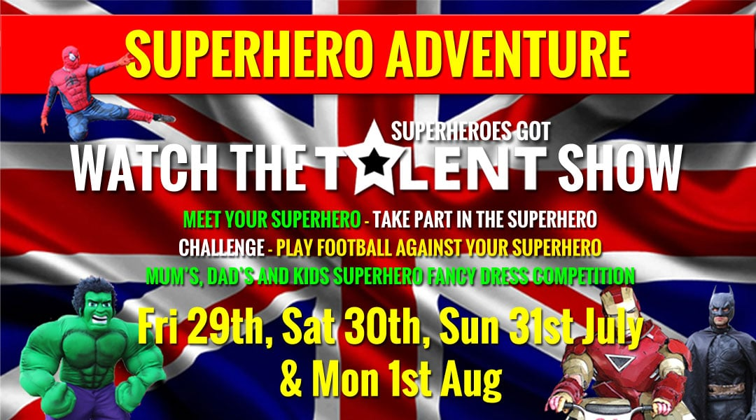 Superheroes got talent Weekend