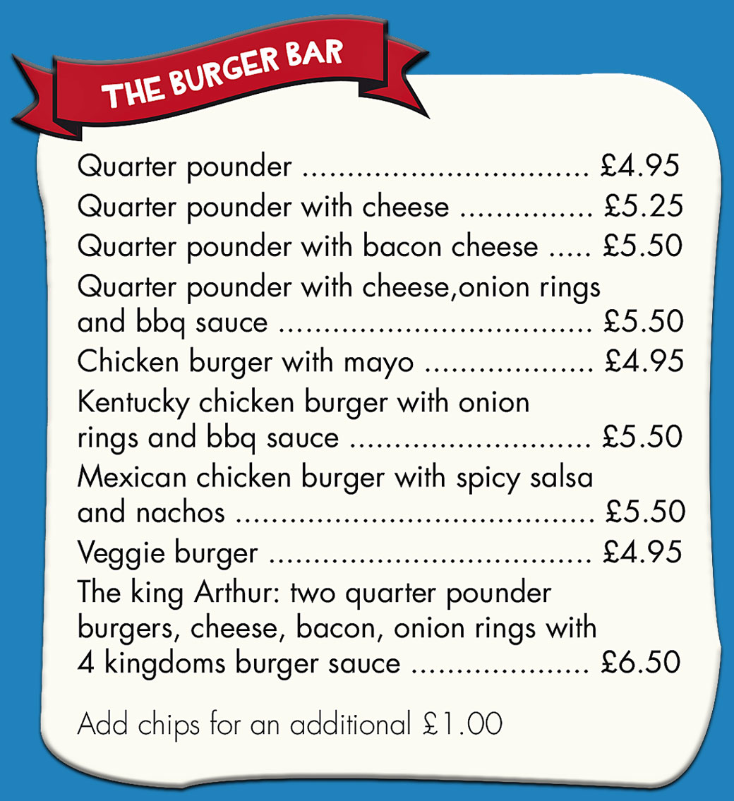 The-Burger-Bar-Menu-Image