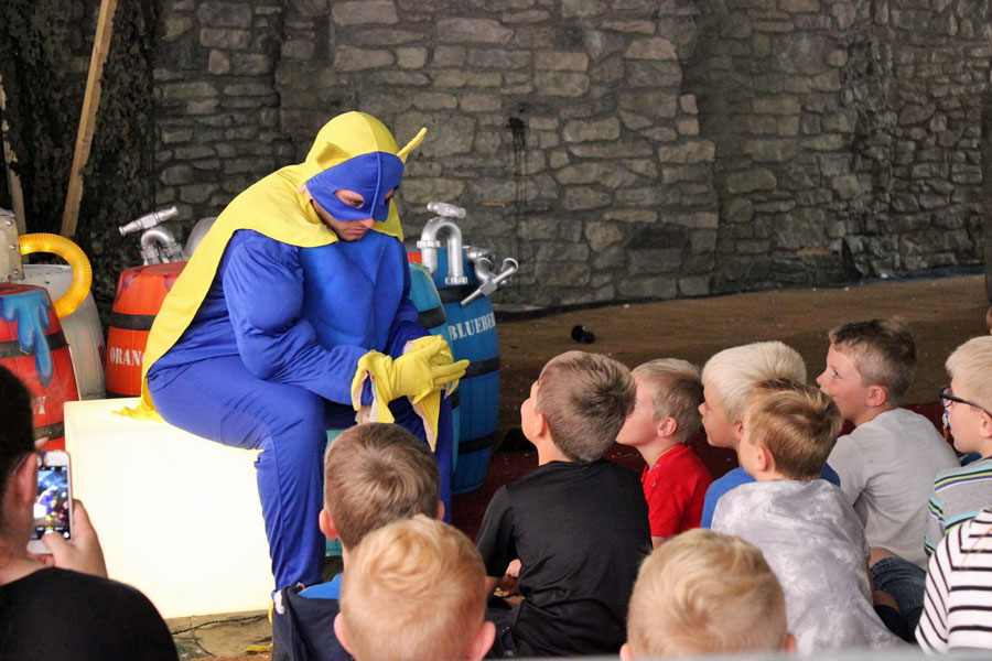 Bananaman story time