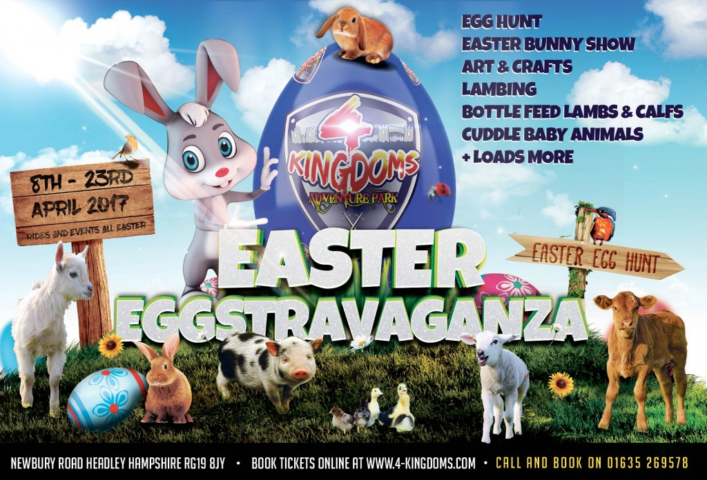 Easter eggstravaganza at 4 Kingdoms Farm Park