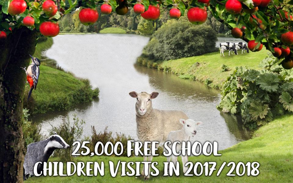 Schools Countryside Challenge Scenery
