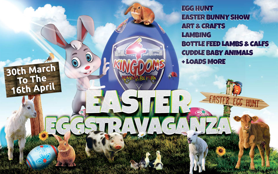 Easter Eggstravaganza event 30th March to 16th April 2018