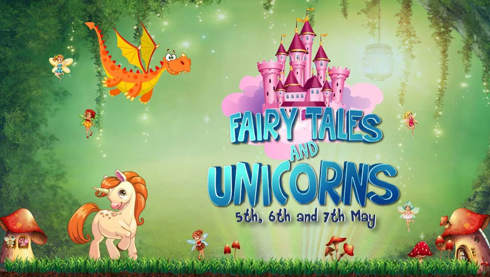 Fairy-tale-and-unicorns event banner