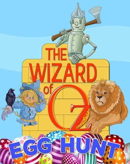 Wizard of Oz easter-egg-hunt