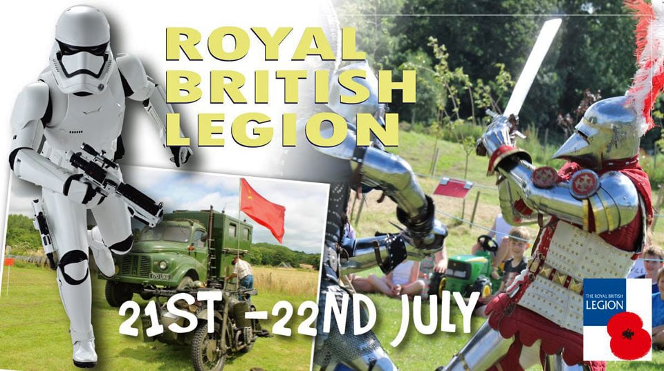 Royal-British-legion-day-July-2018
