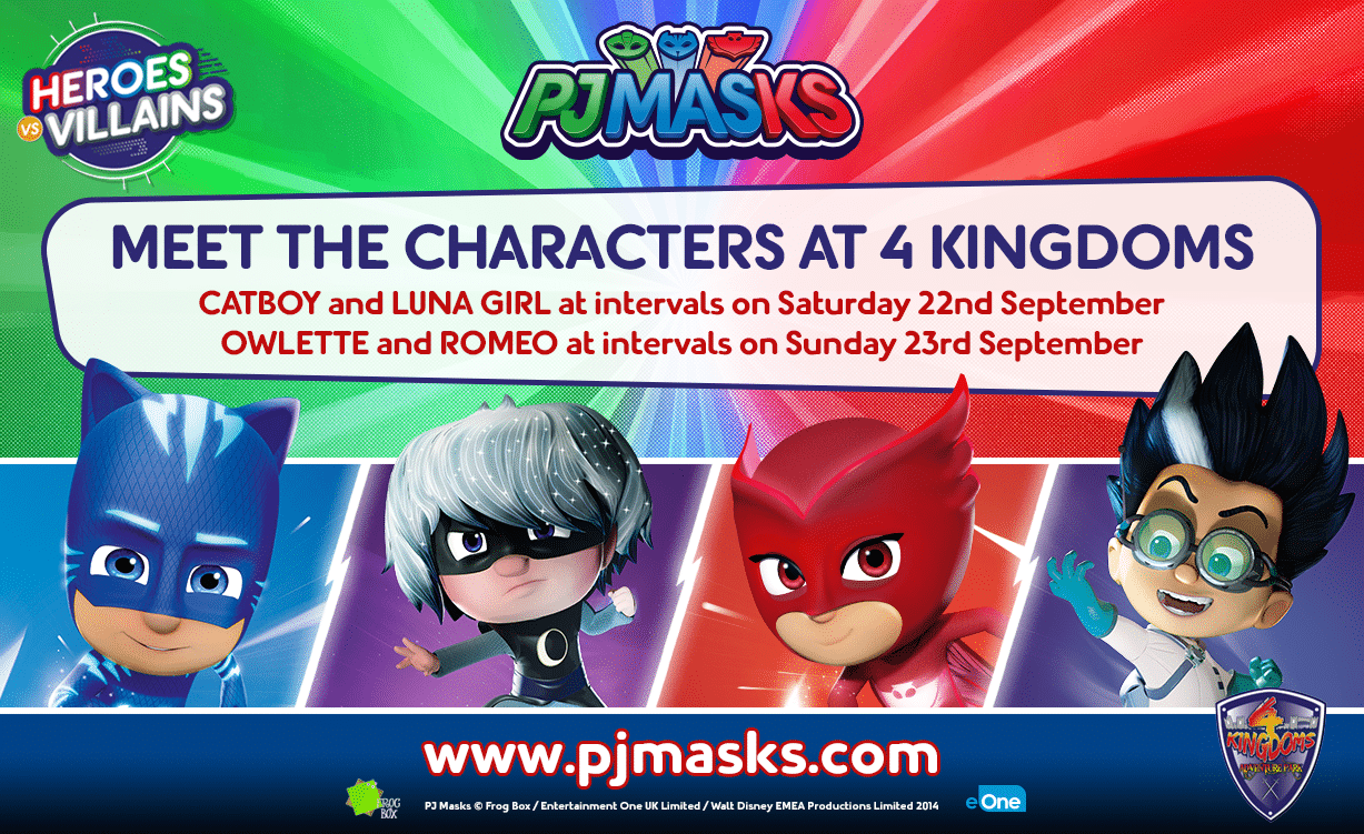 PJ-Mask 22nd and 23rd September