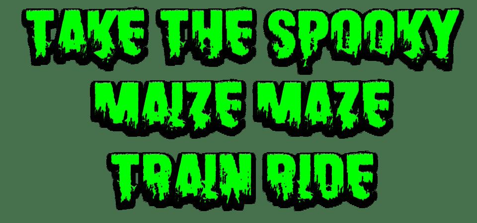 Maize-maze-spooky-train