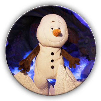 Ollie the snowman