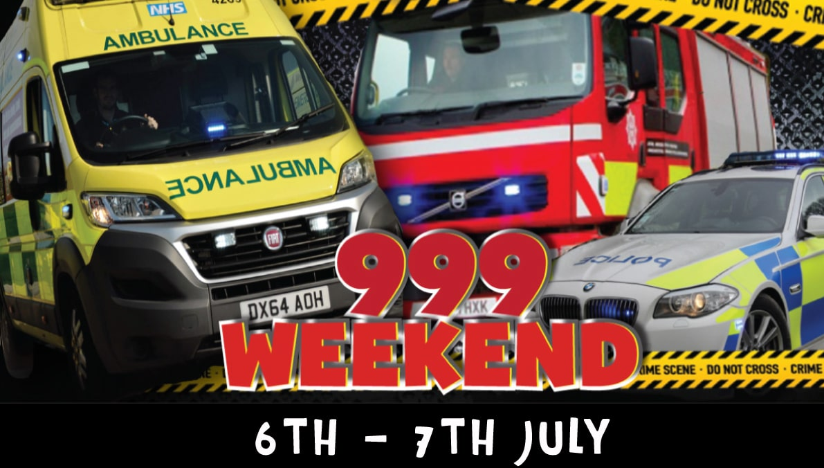 999 weekend 6th & 7th July 2019