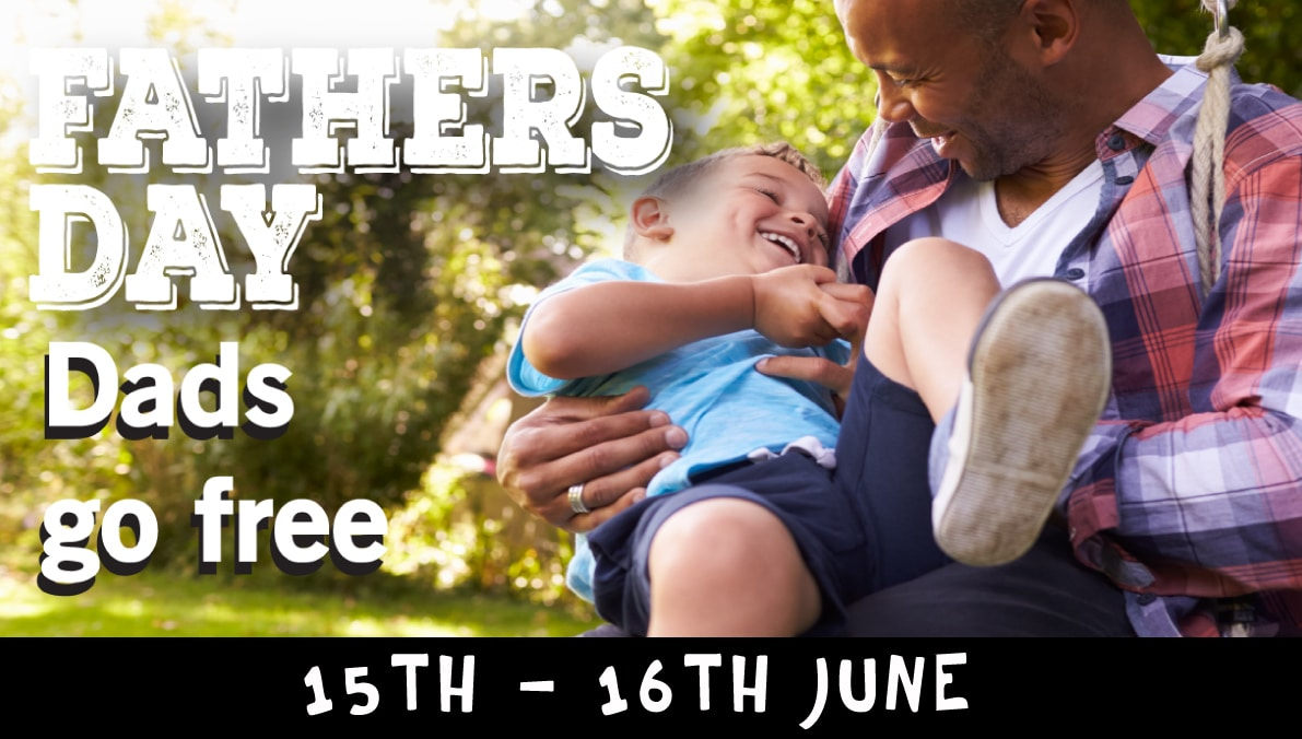 Father Day event 15th to 16th June 2019