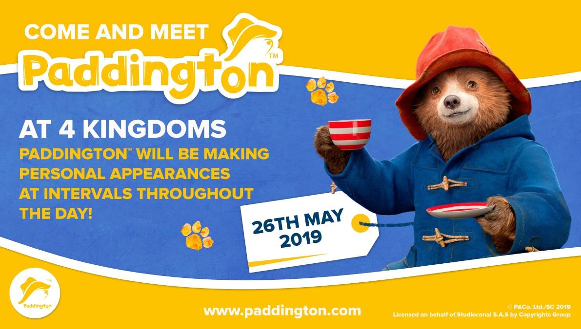 Paddington The Bear event 26th May 2019