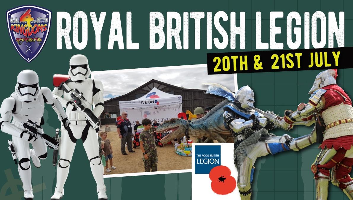 Royal British Legion Event 20th & 21st July 2019