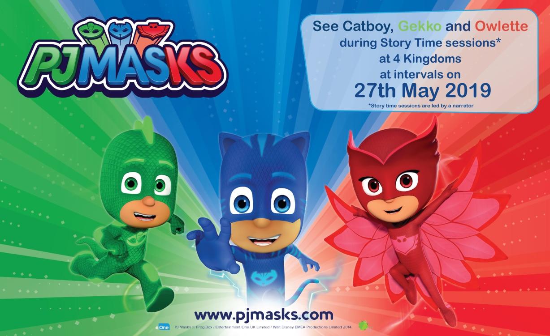 PJ Masks Event 27th May 2019
