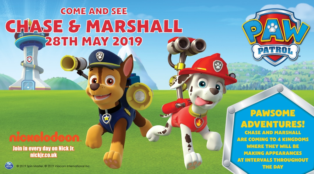 Paw Patrol Event 28th May 2019