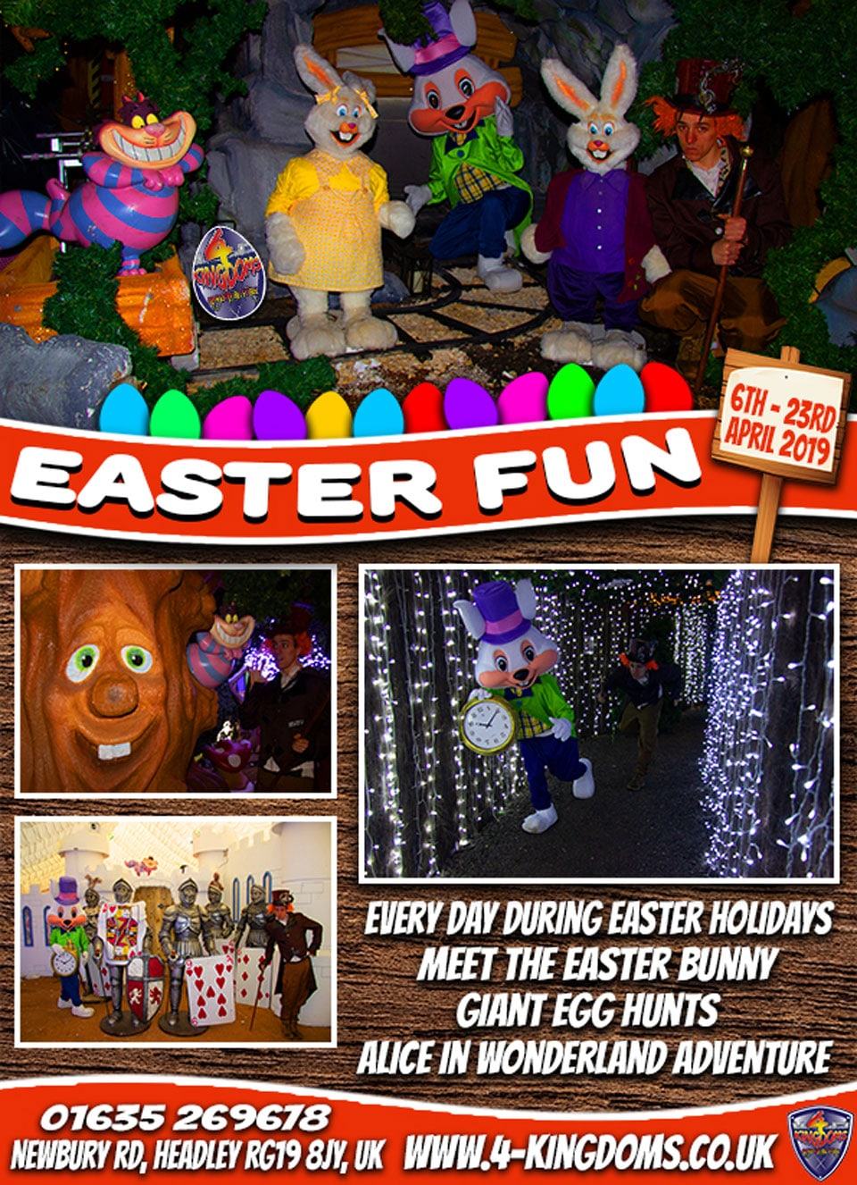 Easter School Holidays Family fun & Adventure
