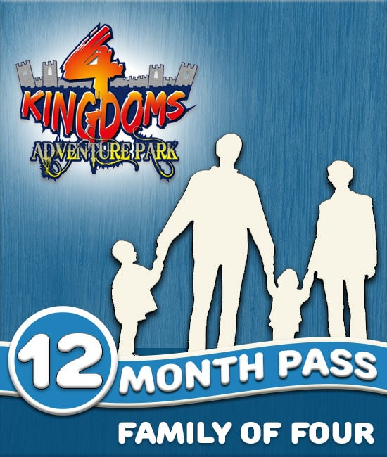 Win a free 12 month pass for a family of four