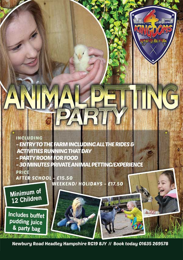 Animal-Petting-Party