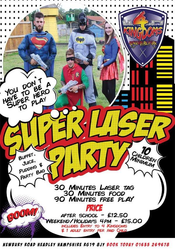 Super-Laser-Party