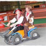 Pirates Ride The Go Karts