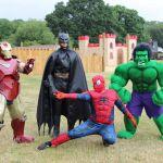 Superheroes-posing