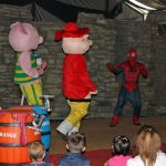 Spiderman-Takes-On-The-Evil-Pigs